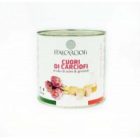 """Артишоки целые в масле 2,6 кг  тм """"Italcarciofi"""""""