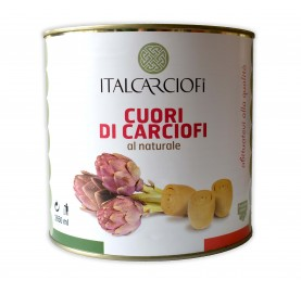 """Артишоки целые 2,6 кг в собственном соку тм """"Italcarciofi"""""""