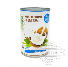"""Крем кокосовый 20-22% ТМ """"Luck Siam""""  0,4 л"""