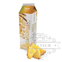 Пюре фруктовое Ананас (замороженный сок) tm Rogelfruit 1кг