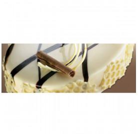 "Зеркальное покрытие из белого шоколада  МIRROR WHITE CHOCOLATE tm ""Irca"""