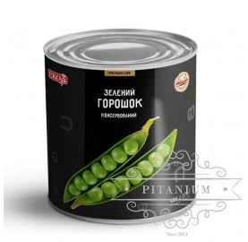 Горошек зелёный консервированный тм Del Gusto