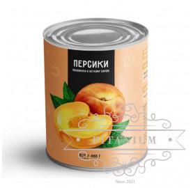 Персик тм Del Gusto 0,82 кг