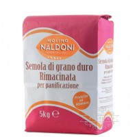 Мука Semola Rimachinata 5 кг tm Molino Naldoni