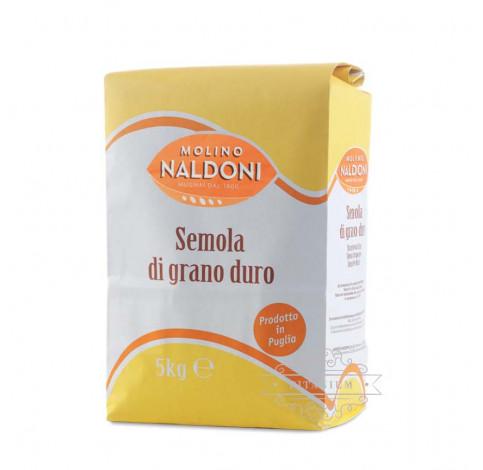 Мука Semola di grano duro 5 кг tm Molino Naldoni