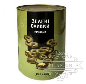 """Оливки резанные кольцами tm """"Del Gusto"""" 4кг"""