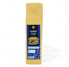 Сыр Чеддер ломтиками (слайсами) TM Del Gusto 1,082 кг