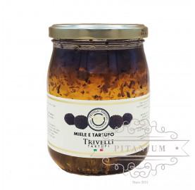 Мёд чёрным трюфелем tm Trivelli Tartufi 0,7 кг